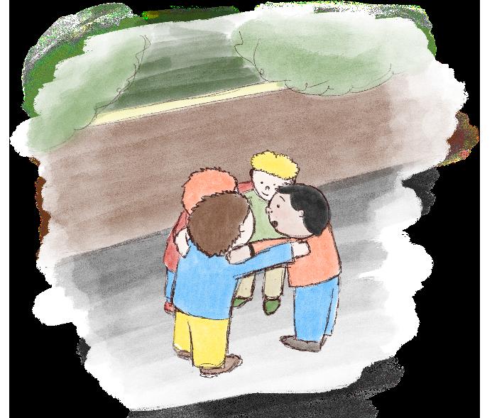 Kinderverhaal De Aardmannetjes Overleg