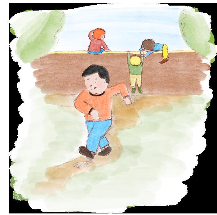 Kinderverhaal De Aardmannetjes _stap_voor_stap