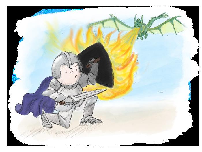 Kinderverhaal Ridder Bram 04