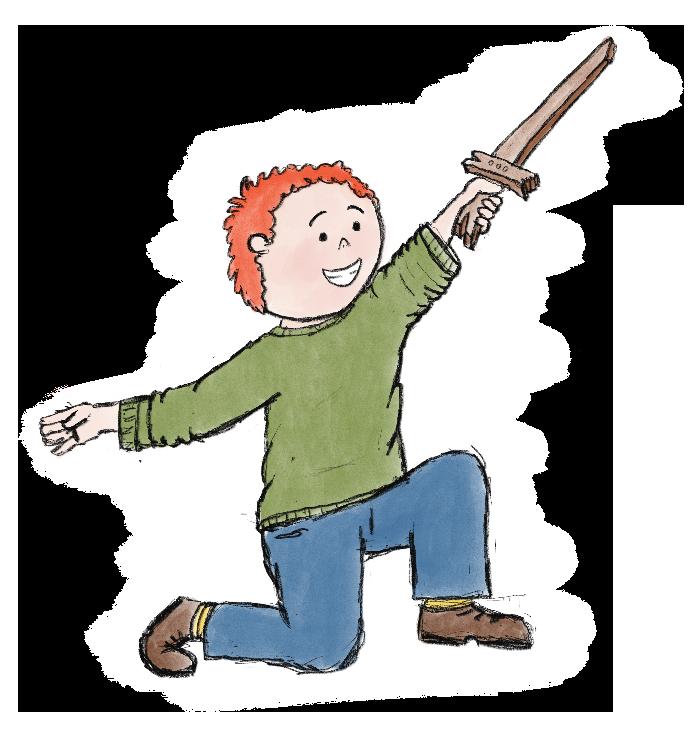Kinderverhaal Ridder Bram 05