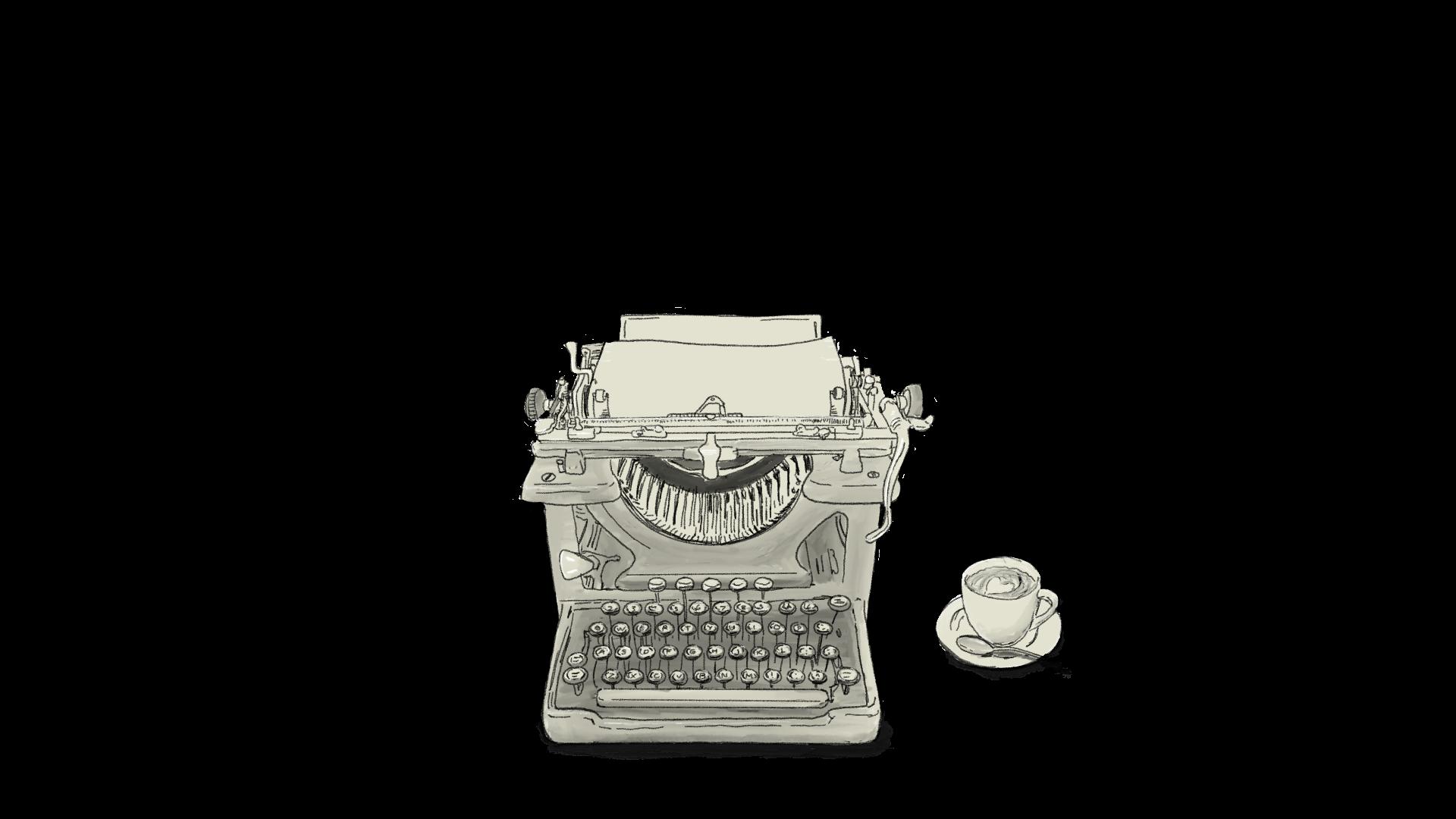 Voorleesverhaaltjes Typmachine en cappuccino